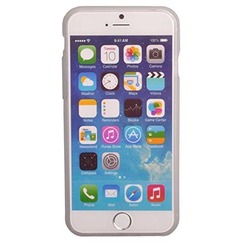 Voguecase® Schutzhülle / Case / Cover / Hülle / TPU Gel Skin für Apple iPhone 6 4.7 Zoll (Grün Augen) + Gratis Universal Eingabestift