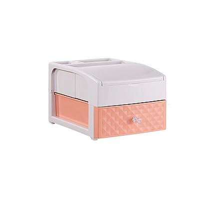 Cajas y soportes Tipo de cajón Caja de Almacenamiento de cosméticos Cuadro de tocador cosmético de