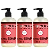 Mrs. Meyer´s Clean Day Hand Soap, Rhubarb, 12.5 fl oz, 3 ct