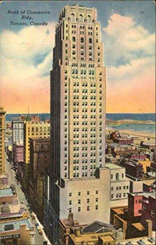 Bank Of Commerce Building Toronto  Ontario Canada Original Vintage Postcard