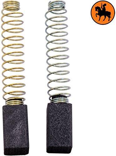 Carbon Brushes for BLACK & DECKER H68RA drill -- 6.3x6.3x11mm -- 2.5x2.5x4.3'' Buildalot