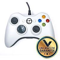 Control Alámbrico Compatible XBOX 360 Color Blanco