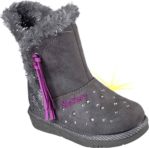 Toddlers' Twinkle Toes Glamslam - Tassle Tootsies Boots Charcoal-CCL 8 - Twinkle Toes Clothes