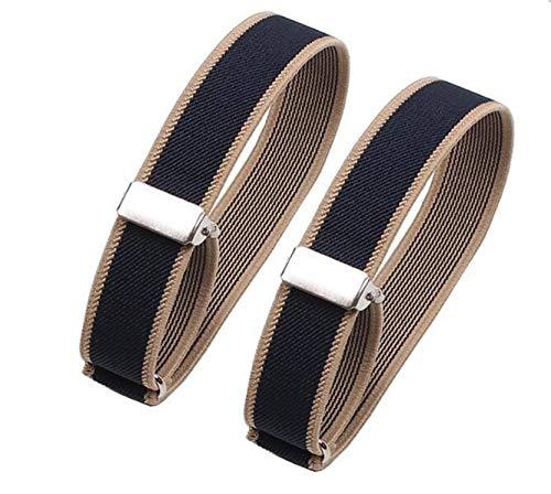 4d42f2d6b Cyprinus Carpio Elastic Adjustable Armband Shirt Garter Sleeve Holders for  Barmaid or Tip on Tap Pack