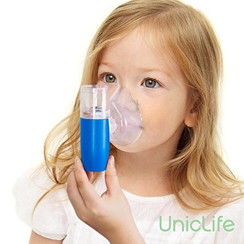 Uniclife Rechargeable Pocket Inhaler Mini Travel Handheld USB Ultrasonic Humidifie for Adult Kids