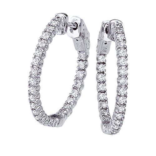 14k-1ct-white-gold-diamond-secure-lock-24-mm-hoop-earrings