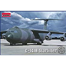 """PLASTIC MODEL TRANSPORT AIRCRAFT """"LOCKHEED C-141B STARLIFTER """" 1/144 RODEN 331 Airplane miniatures Plastic model building airplane"""