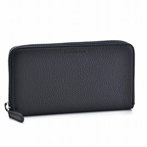 Zegna(ゼニア) 財布 メンズ DUETTO ラウンドファスナー長財布 ネイビー C1209X-TOE-NAV [並行輸入品] B076RYKZJZ
