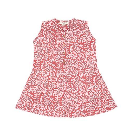 Price comparison product image Organic Toddler Girls Dress By [Zahi Organics] -100% Organic Cotton -Pink Dress