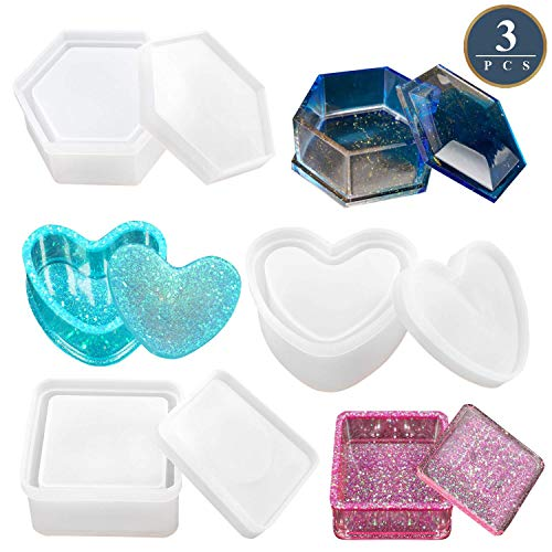 Box Resin Molds Jewelry