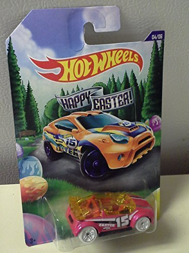 2015 Hot Wheels Easter Walmart Exclusive Complete Set of 6 - Tarmac Attack, Toyota RSC, Amazoom, Super Gnat, Deora II, Custom '69 Chevy - 69 Custom Chevy Pickup