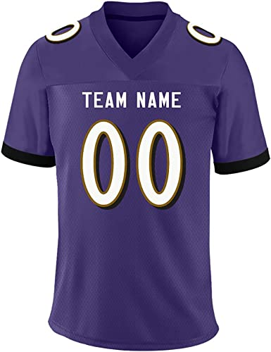 Amazon Com Custom Team Football Jersey Mesh Personalized Uniforms Printed Stitched Design Team Name Number For Women Xl Clothing