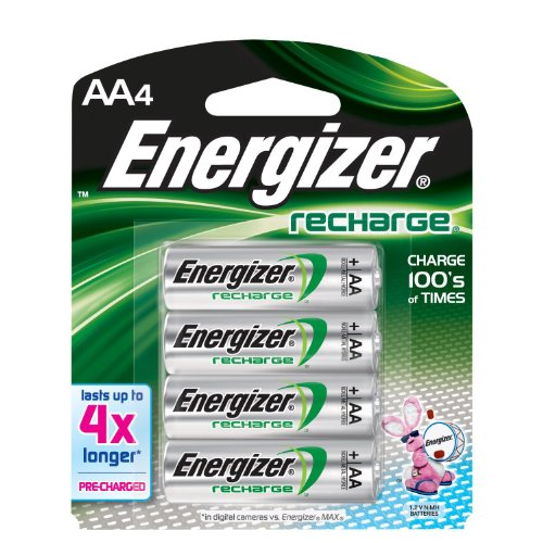 Energizer Rechargeable AA NiMH Batteries
