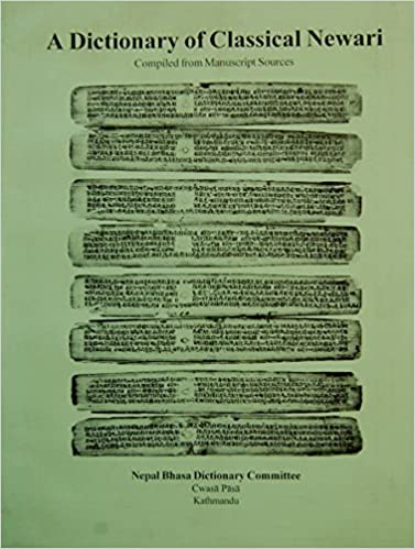 Dictionary of Classical Newari