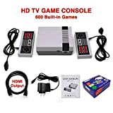 HD Video Game Entertainment System HDMI Output Family Classic Mini TV Game Console Double Handle With Built in 600 Games