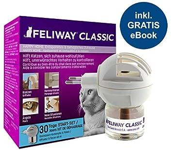Feliway Classic Evaporador Start-Set con Gatos de wohlfüh Guía de Animales glück24: Amazon.es: Productos para mascotas