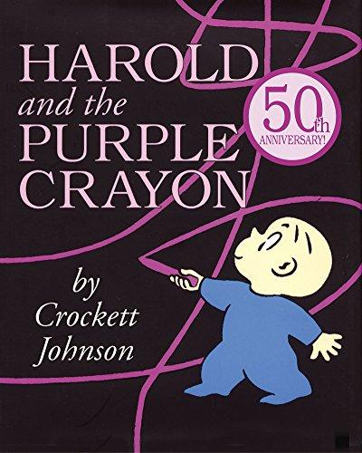 Harold and the Purple Crayon (Purple Crayon Books) ()