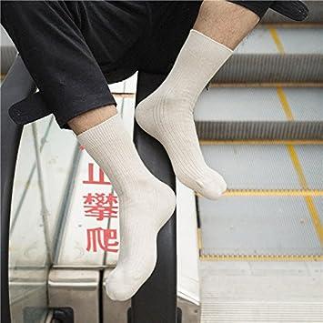 meichen de – Calcetines en algodón color para el otoño/invierno Simplicidad Hombres LÄSSIG Adulto