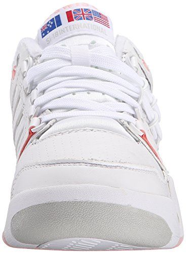 K-swiss classic Zapatilla si-18 international wht/crystlrse/gryv