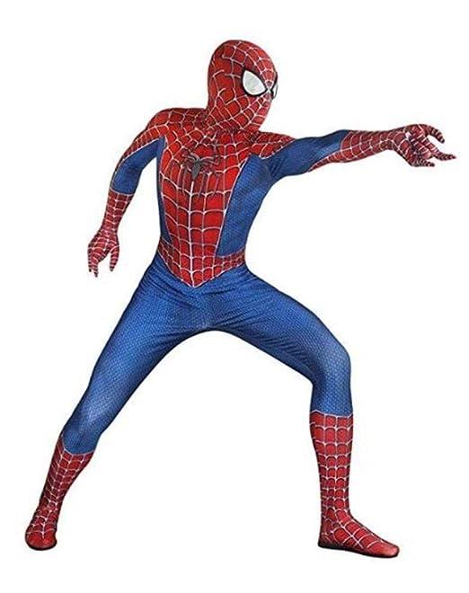 DSFGHE Traje De Spiderman Lycra Spandex Adulto Halloween Cosplay ...