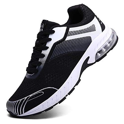 XIDISO Running Shoes Womens Air Trail Mesh Sneakers Athletic Walking Cross Training Tennis Sports Shoe for Women Black