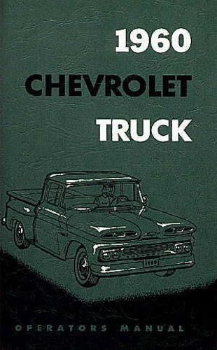 1960 Chevrolet Pickup Truck owners manual