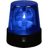 LED Strobe Light, 1/2pcs DJ Flashing Stage Lights, Rotating Red Flashing Beacon Party Lamp DJ Strobe Light with Switch…