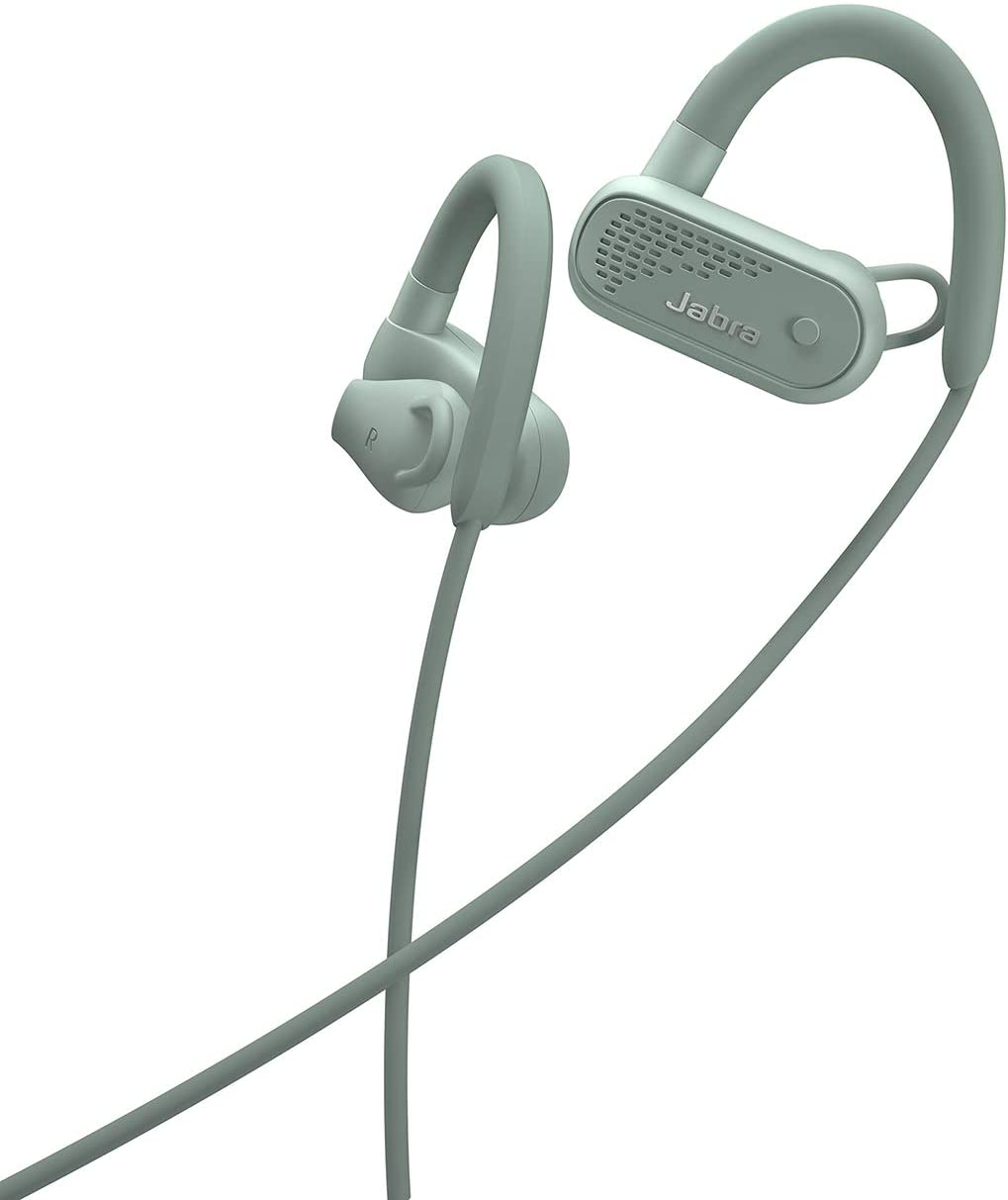 Jabra Elite Active 45e Wireless Sports Earbuds, Mint – Alexa Built-in Wireless Bluetooth Earbuds, Around-The-Neck Style with a Secure Fit and Superior Sound, Long Battery Life, Ideal for Running