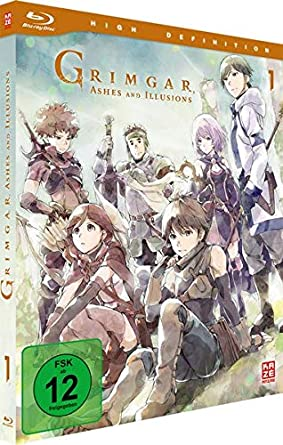 Grimgar Ashes And Illusions Vol 1 Blu Ray Amazonde