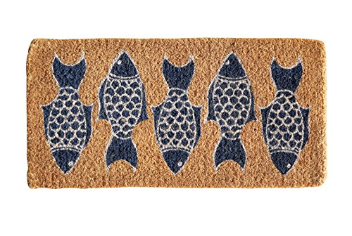 32 Natural Coir Fish Doormat