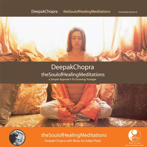 Soul Healing Meditations Deepak Chopra product image