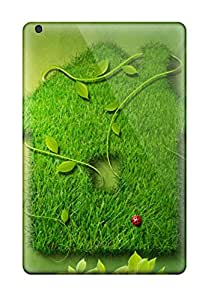 Shayna Somer's Shop Lovers Gifts Ipad Mini Case Cover - Slim Fit Tpu Protector Shock Absorbent Case (creative Green House) 8332725I25658107