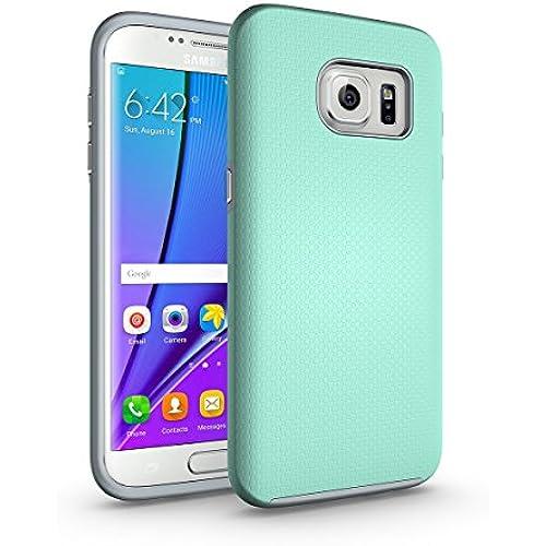 Galaxy S7 Edge Case Orzero Anti-slip Shockproof Armor Protective Case Ultra Slim Fit Non-slip Grip Rubber Bumper Sales