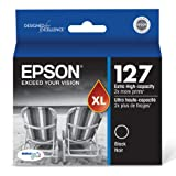 Epson DURABrite XL T127120 Ultra 127 Extra High-capacity Inkjet Cartridge-Black