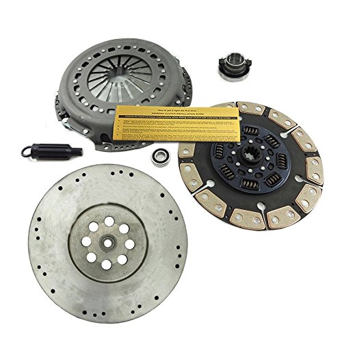 EFT CERAMIC CLUTCH KIT+ HD FLYWHEEL fits DODGE RAM 5.9L 6.7L CUMMINS TURBO DIESEL
