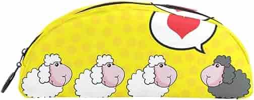 Bonie - Estuche para lápices, diseño de oveja de animales: Amazon.es: Oficina y papelería