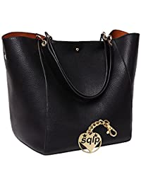 SQLP Women's Waterproof handbags ladies Leather Shoulder Bag Fashion Totes Messenger Bags
