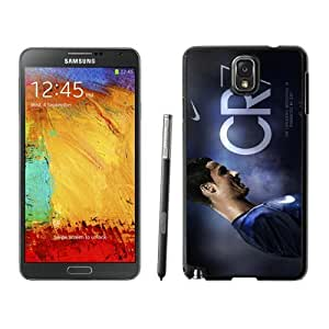 Soccer Player Cristiano Ronaldo(3) Black Samsung Galaxy Note 3 Screen Cover Case Grace and Durable Protective