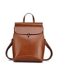 Leather Backpacks for Women Shoulder Bag Spring fashion Leather Purses