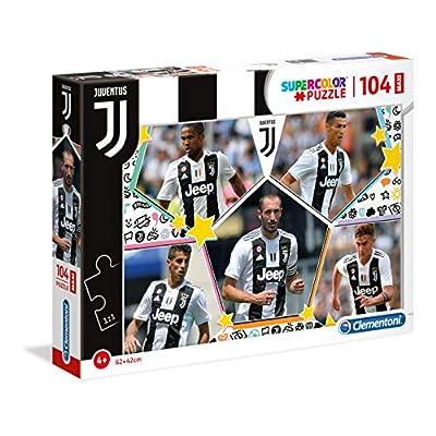 Clementoni Supercolor Juventus Maxi Puzzle 104 Pezzi Multicolore 23726