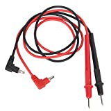 1 Pair 220V 20A Replacement Universal Digital Multimeters Meter Probe Test Leads Cable 74cm Long Red Black