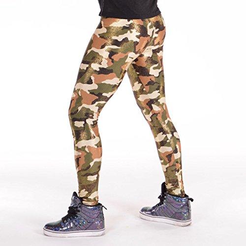 Camo Sparkle (Revolver Fashion Holographic Camo Meggings USA Made Men's Leggings: Camouflage Glamouflage (X-Large, Camo Sparkle))