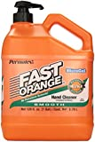 Permatex 23218 Fast Orange Smooth Lotion Hand Cleaner with Pump, 1 Gallon