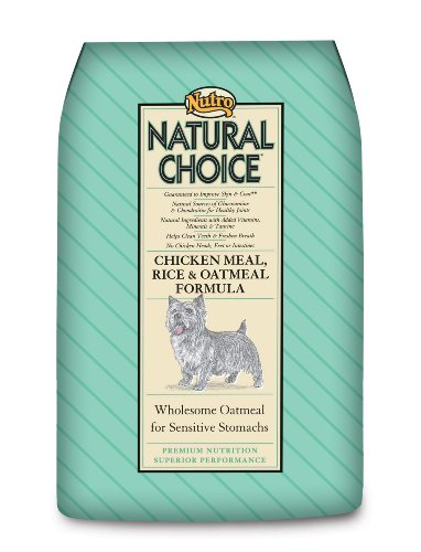 Natural Choice Adult Chicken, Whole Brown Rice, and Oatmeal Formula, Dog Food, 30-Pound bag, My Pet Supplies