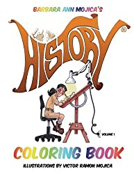 Little Miss HISTORY COLORING BOOK (Volume 1)