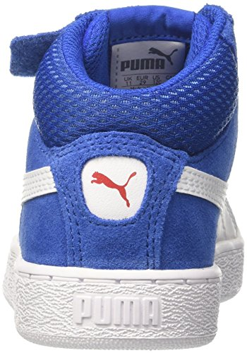 Mixte White Ps turkish V Puma Basses Mid Enfant Bleu Sneakers puma 1948 Sea Fwxq7FSnHY