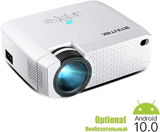 LAYA Mini proyector, LED portátil para teléfono Celular 1080P 3D 4K Home Movie Cinema (Opcional Android 10 TV Box): Amazon.es: Hogar