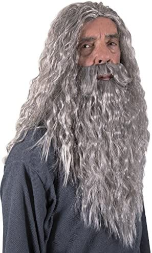 Kangaroo Halloween Accessories Wizard Wig product image