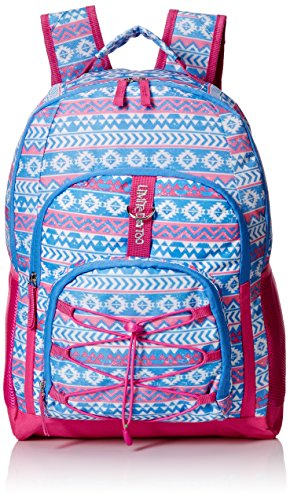 Limited Too Big Girls Bungee Backpack, Aztec Denim, One Size