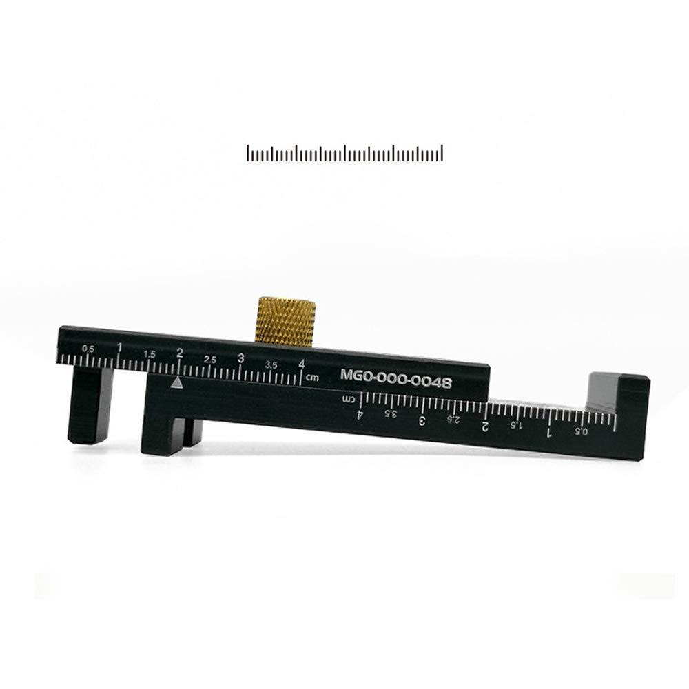 Holzbearbeitung F/ühler Lineal S/ägenaht Gauge Gaps Gauge S/äge Schlitz Einsteller Regler Holzbearbeitungswerkzeug